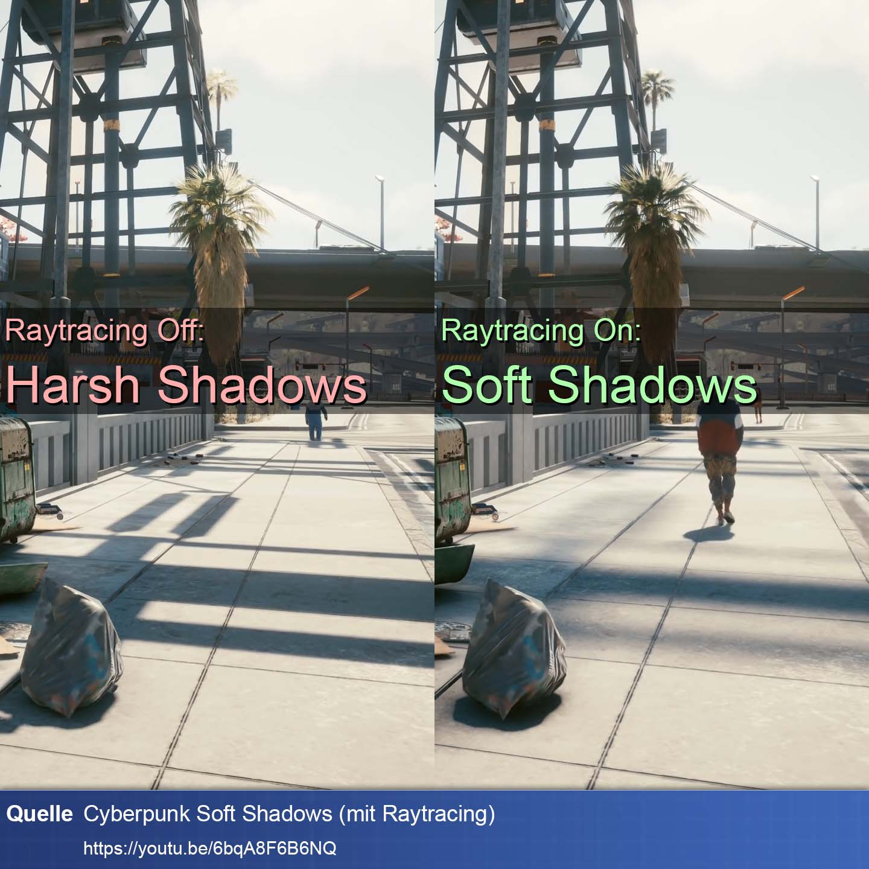 Cyberpunk Soft Shadows