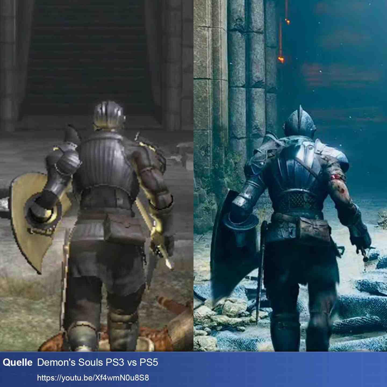 Demons Souls Vergleich